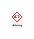 GHS sticker hazardous goods